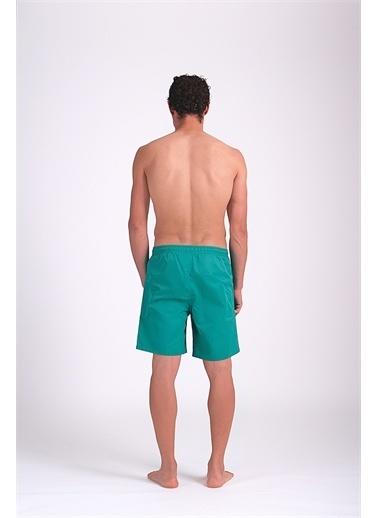 Dagi Açik Micro Orta Düz Erkek Deniz Şortu Yeşil